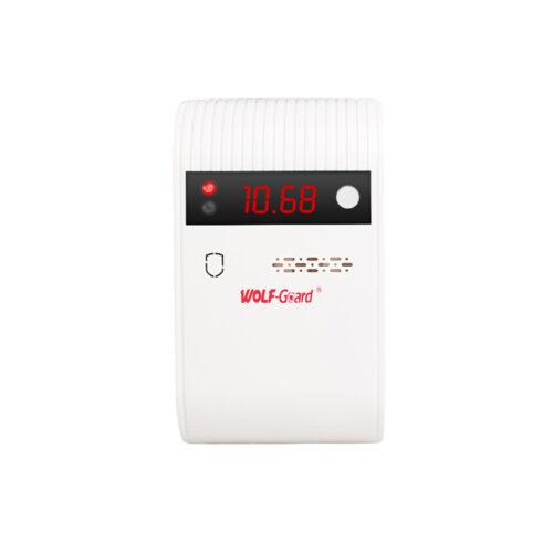 QG-05 - Detector de gas inalámbrico, detecta efectivamente la fuga de gas inflamable, como GLP, gas natural y gas de pantano, etc.